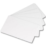CR80 Blank White PVC Cards - Wrapped in Bundles of 100