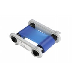 Evolis Zenius & Primacy Printer Ribbon, BLUE MONOCHROME RIBBON 1,000 PRINTS / ROLL