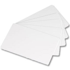 CR80 Blank White PVC Cards - Bundles of 100 - Boxed in 500 Qty