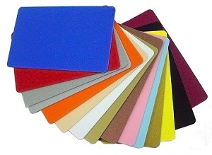 Colored and Metallic PVC Cards (500 Ea) - Options for Mag and Hole Punch